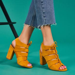 Sandale cu toc dama SB1444B