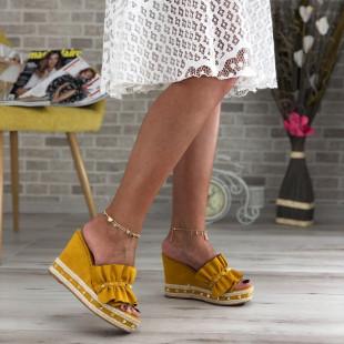 Papuci cu platforma SB414D