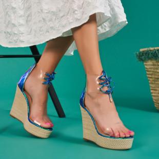 Sandale cu platforma dama SB1043B