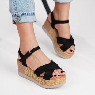 Sandale cu platforma dama SB1204B