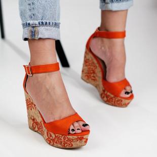 Sandale cu platforma dama SB1282B