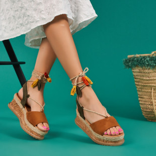 Sandale cu platforma dama SB1668B