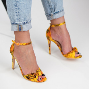 Sandale cu toc dama SB1300B
