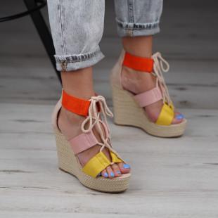 Sandale cu platforma dama SB1041B