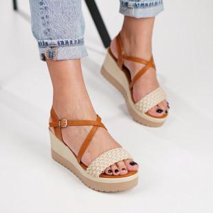 Sandale cu platforma dama SB1209B