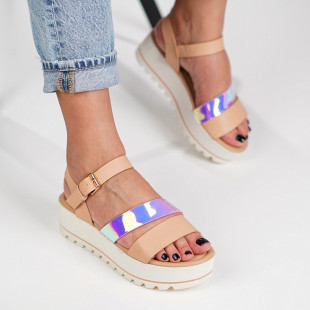 Sandale cu platforma dama SB1224B