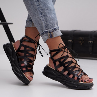 Sandale cu platforma dama SB1494B