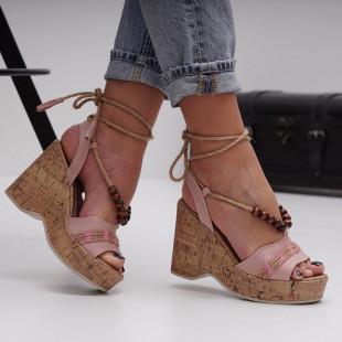 Sandale cu platforma dama SB1500B