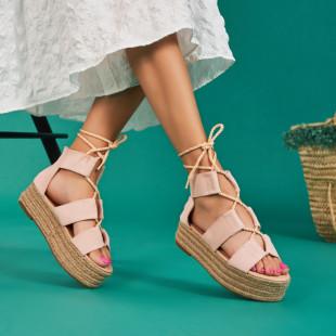 Sandale cu platforma dama SB1663B