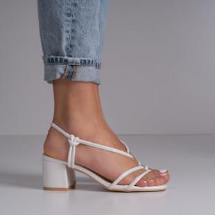 Sandale cu toc dama SB1403B