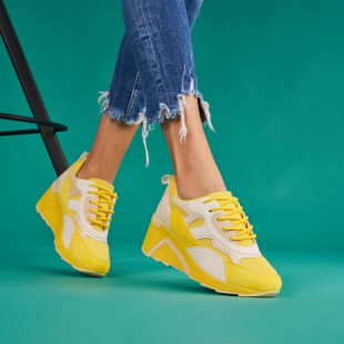 Pantofi sport cu platforma dama SB1694B