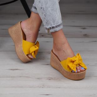 Papuci cu platforma dama SB1019B
