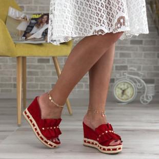 Papuci cu platforma SB415D