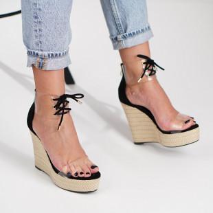 Sandale cu platforma dama SB1215B