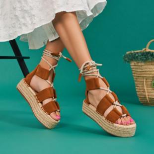 Sandale cu platforma dama SB1658B