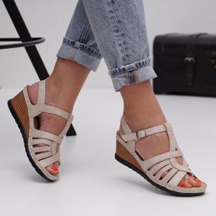Sandale dama cu platforma SB1428B