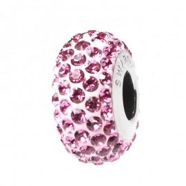 Poze Talisman Swarovski Crystal Light Rose