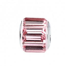 Talisman Swarovski Crystal Light Rose 12