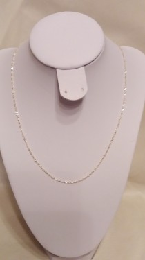 Poze Lantisor din argint singapore 1,5 mm, 42 cm lungime