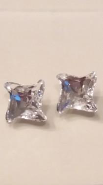 Poze Cercei din argint cu cristale Swarovski Crystal Foiled twister