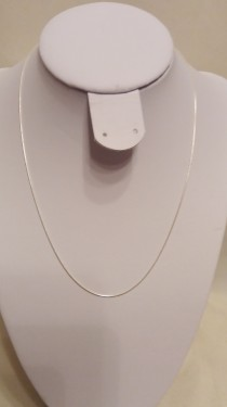 Poze Lantisor din argint snake 0,7 mm, 42 cm lungime
