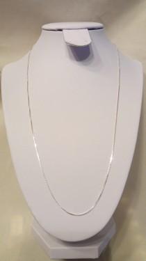 Poze Lantisor din argint box twisted 0,9 mm, 55 cm lungime