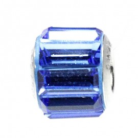 Poze Talisman Swarovski Crystal Sapphire 12 (Swarovski Elements Becharmed Pave) pentru bratarile pandora
