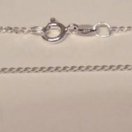 Lantisor din argint 1,35 mm, 45 cm lungime