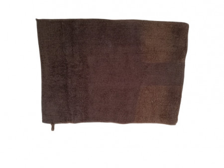Covor de baie din bumbac, 45 x 35 cm, maro