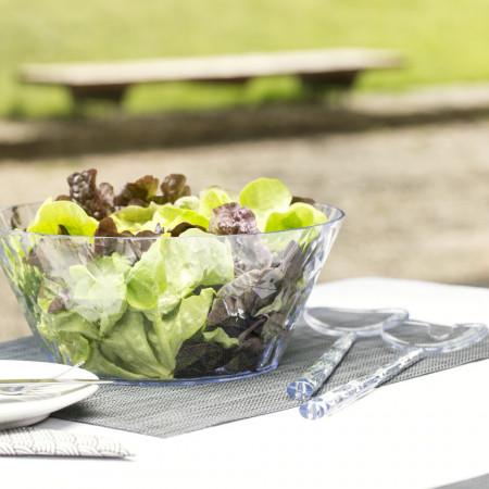 Ustensile pentru salata, roz, CRYSTAL SALAD