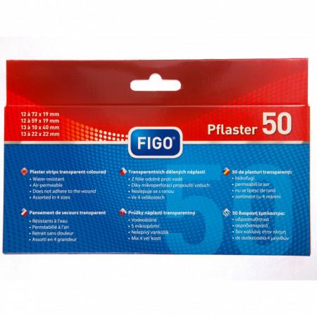 Plasturi transpareti, 50 buc