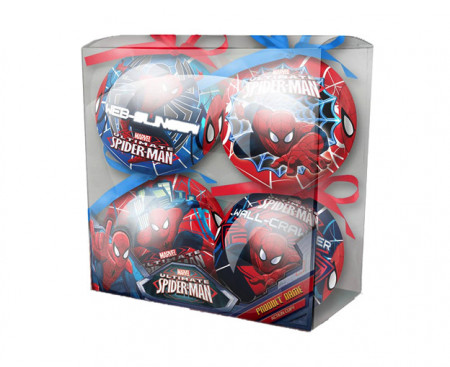 Set 4 Globuri Craciun ''SPIDER-MAN''