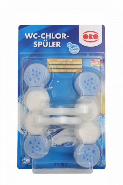Tablete pentru curatat vasul de toaleta cu clor