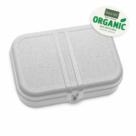 Cutie pentru pranz gri cu separator, PASCAL