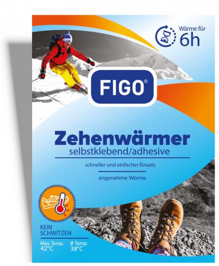 Incalzitoare pentru degetele picioarelor, 6 H