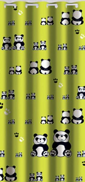 Perdea dus, poliester, Panda