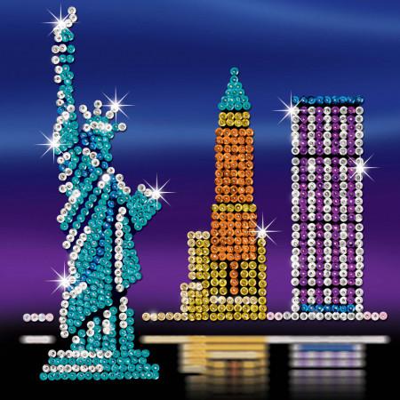 Set creativ Art Sequin Style New York