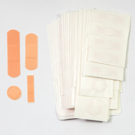 Set plasturi diferite marimi, 100 buc