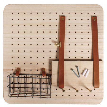 Organizator suport chei, Pin & Peg