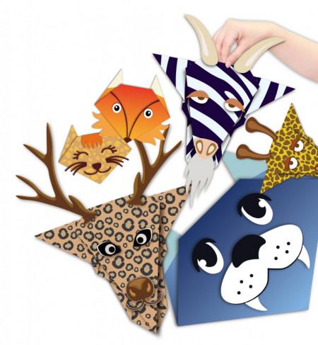 Set creativ origami 6 animale