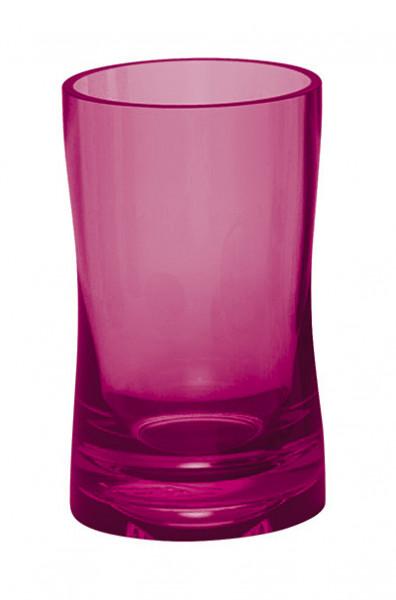 Pahar de baie din plastic, roz