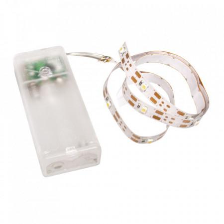 Banda led, lumina calda, 55 cm