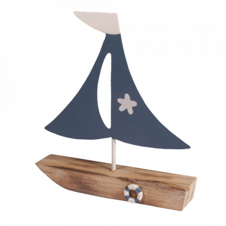 Decoratiune barca cu vela