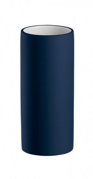 Pahar de baie din ceramica, bleu