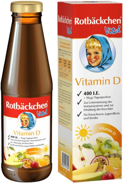 Formula VITAMINA D Rotbäckchen Vital, 450 ml