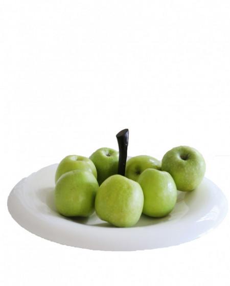 Platou pentru fructe alb, BIG APPLE