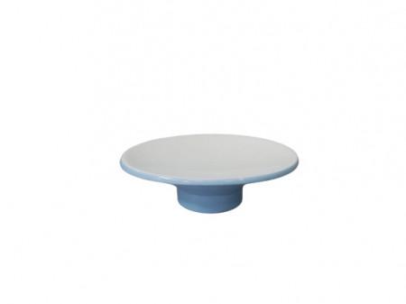 Savoniera ceramica, albastra