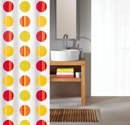 Perdea dus Point,material textil, 180/200 cm