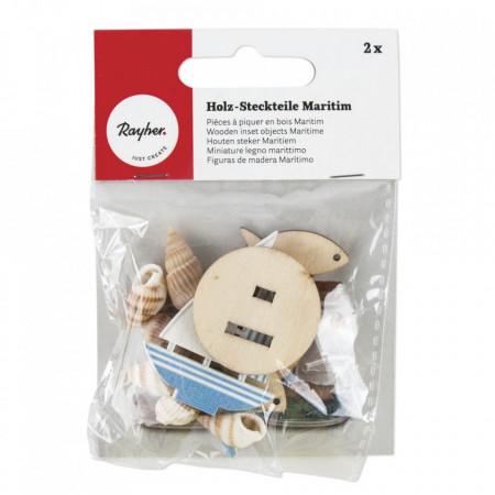 Piese maritime plug-in din lemn