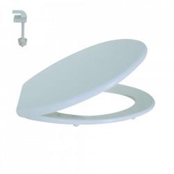 Capac WC polipropilena, alb